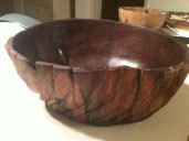 Walnut bowl from a tree that my neighbor's grandfather planted.