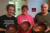 Bowl Carving Class Creations