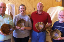 Wooden Bowl Carving Class